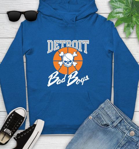 Detroit Bad Boys Youth Hoodie 11