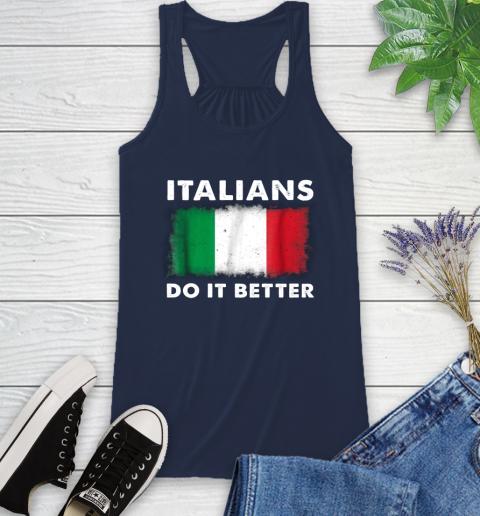 Italians Do It Better Racerback Tank 9