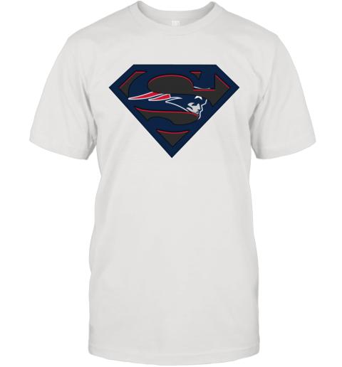 NFL New England Patriots LOGO Superman T-Shirt