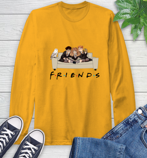 Harry Potter Ron And Hermione Friends Shirt Long Sleeve T-Shirt 2