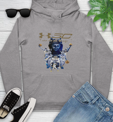 Stephen Curry I Can Do All Things Signature Youth Hoodie 6