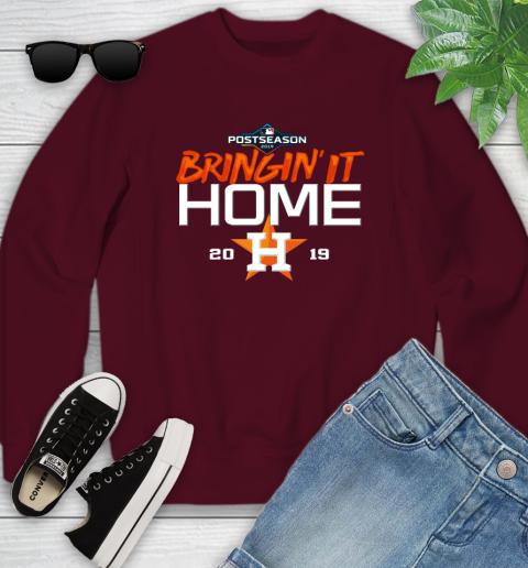 Bringing It Home Astros Youth Sweatshirt 4