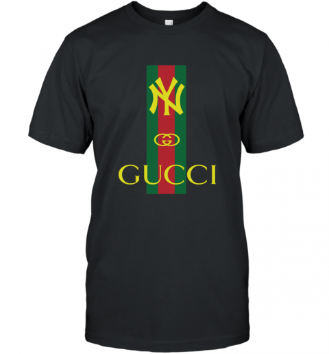 Gucci Logo New York Yankees T-Shirt