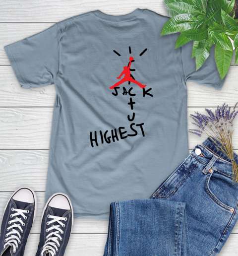 Travis Scott Cactus Jack Jordan Highest Women's T-Shirt 17