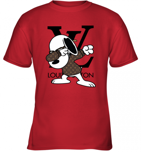 SNOOPY GUCCI x LOUIS VUITTON LOGO Youth T-Shirt