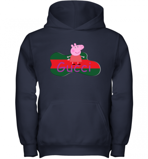 Peppa Pig Gucci Shirt Design Youth Hoodie