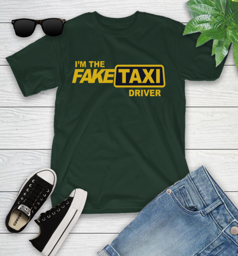 I am the Fake taxi driver Youth T-Shirt 5