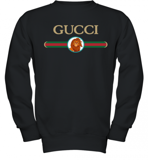 Lion King Simba Gucci Youth Sweatshirt