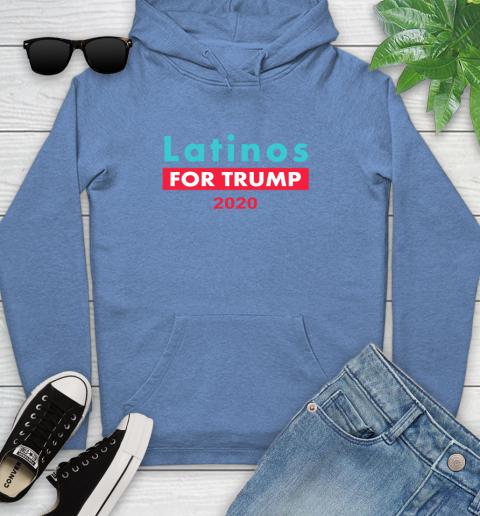 Latinos Trump 2020 Youth Hoodie 12
