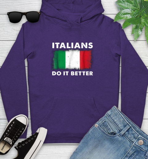 Italians Do It Better Youth Hoodie 5