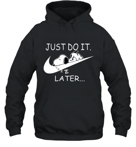 Nike Just Do It Later Snoopy Hoodie