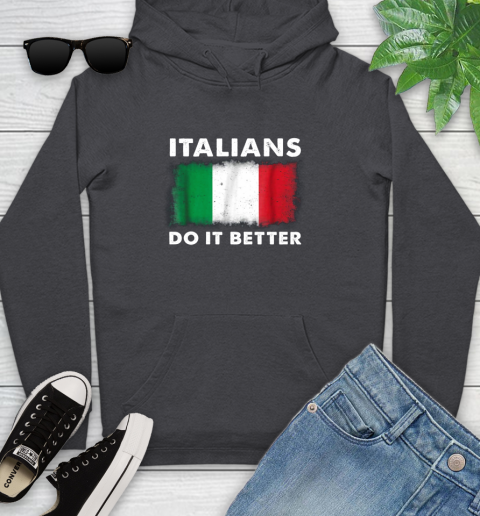 Italians Do It Better Youth Hoodie 8