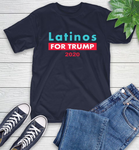 Latinos Trump 2020 T-Shirt 4