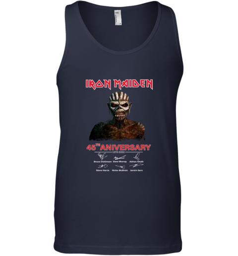 1975 2020 Iron Maiden 45th Anniversary Tank Top