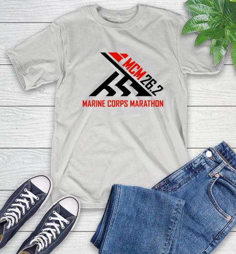 2018 Marine Corps Marathon T-Shirt 1