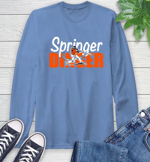 Houston Springer Dinger Fan Shirt Long Sleeve T-Shirt 12
