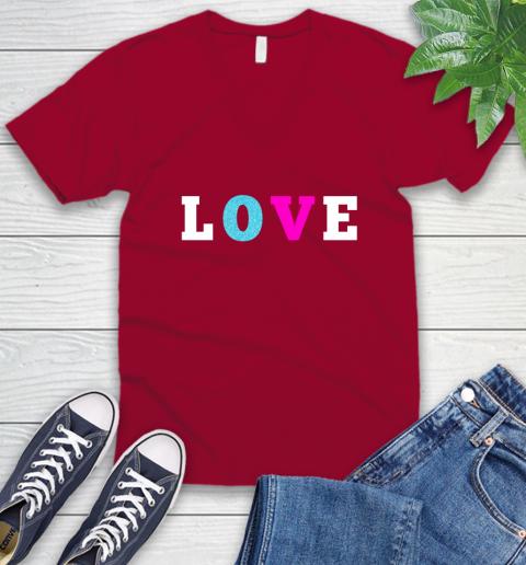 Love Shirt Savannah Guthrie V-Neck T-Shirt 7