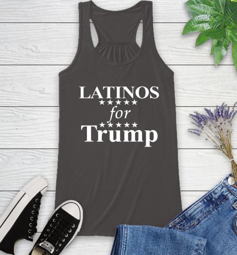 Latinos For Trump Racerback Tank 11