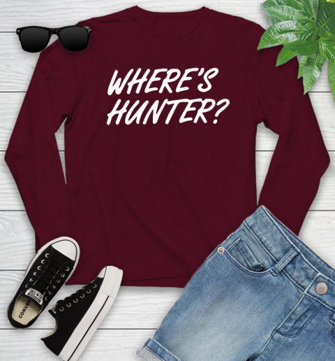 Where Is Hunter Youth Long Sleeve 6