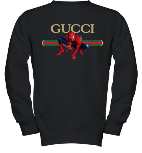 Gucci Logo Spiderman Youth Sweatshirt