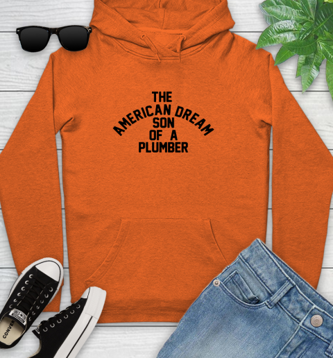 Dusty Rhodes Son Of A Plumber Shirt Youth Hoodie 3