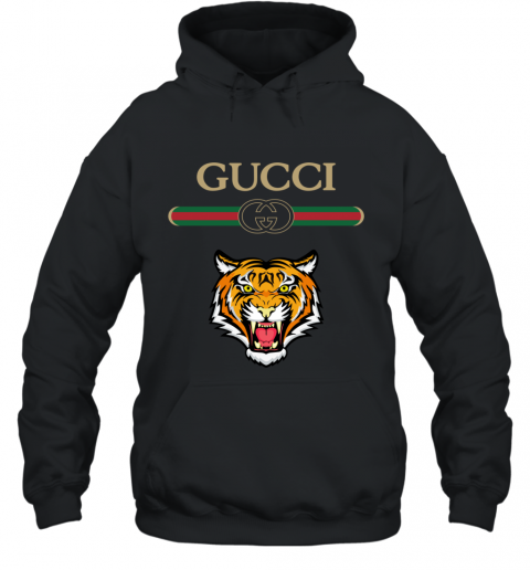 Gucci Logo With Tiger Hoodie
