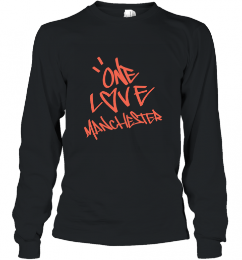 ARIANA GRANDE  ONE LOVE MANCHESTER Long Sleeve T-Shirt
