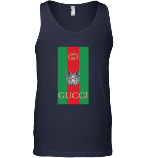Gucci Logo Wolf Tank Top