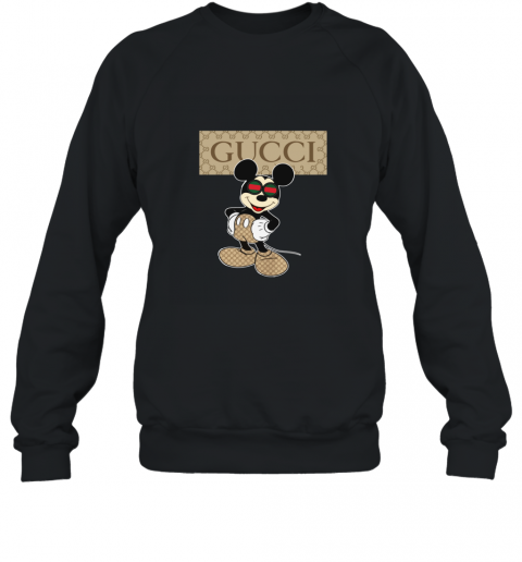 Gucci With Mickey Mouse Sweatshirt