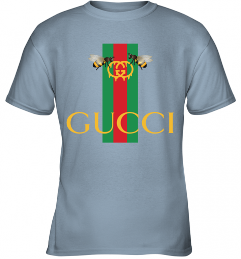 Gucci Bee Shirt Logo 2019 Youth T-Shirt