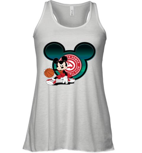 NBA Atlanta Hawks Mickey Mouse Disney Basketball Racerback Tank