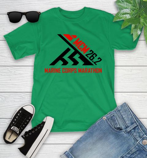 2018 Marine Corps Marathon Youth T-Shirt 3
