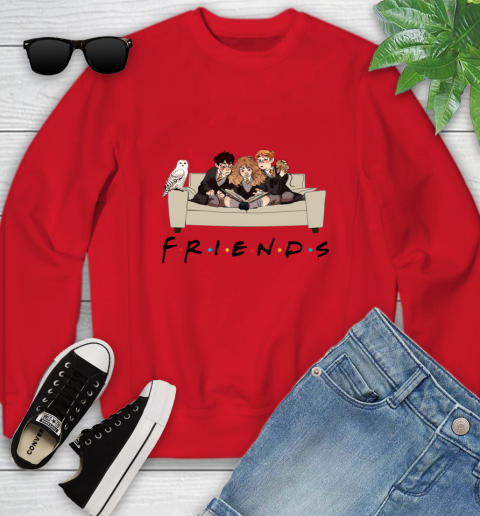 Harry Potter Ron And Hermione Friends Shirt Youth Sweatshirt 5