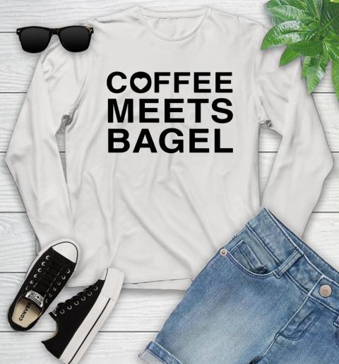 Coffee Meets Bagel Black Youth Long Sleeve
