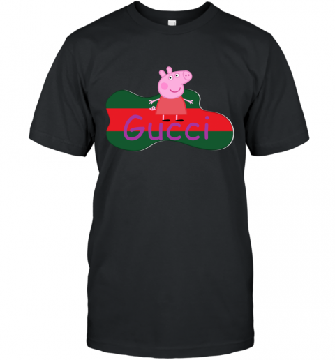 Peppa Pig Gucci Shirt Design T-Shirt