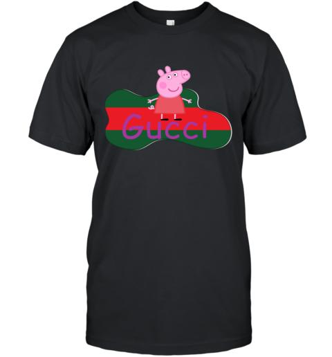 Peppa Pig Gucci Shirt Design T-Shirt