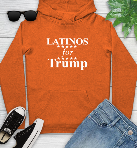 Latinos For Trump Youth Hoodie 4