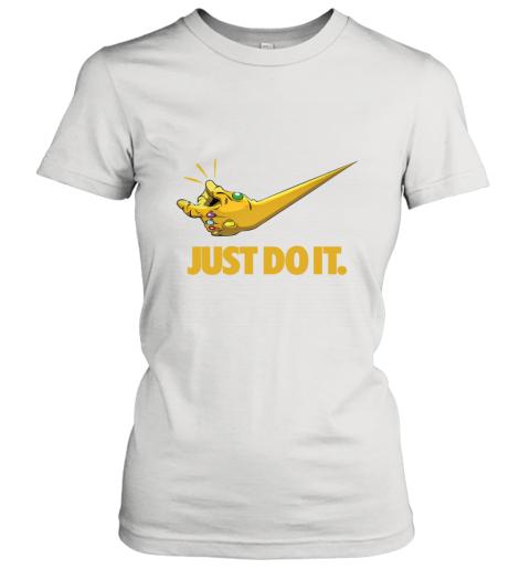 Just Do It Infinity Gauntlet – Thanos Nike Logo Women's T-Shirt