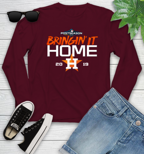 Bringing It Home Astros Youth Long Sleeve 6