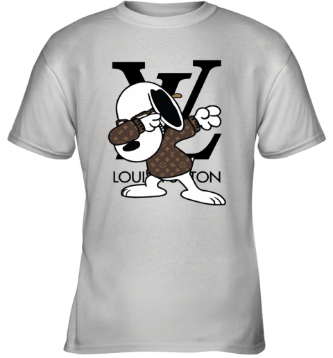 SNOOPY GUCCI x LOUIS VUITTON LOGO Youth T-Shirt