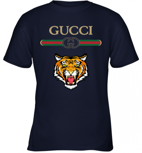 Gucci Logo With Tiger Youth T-Shirt