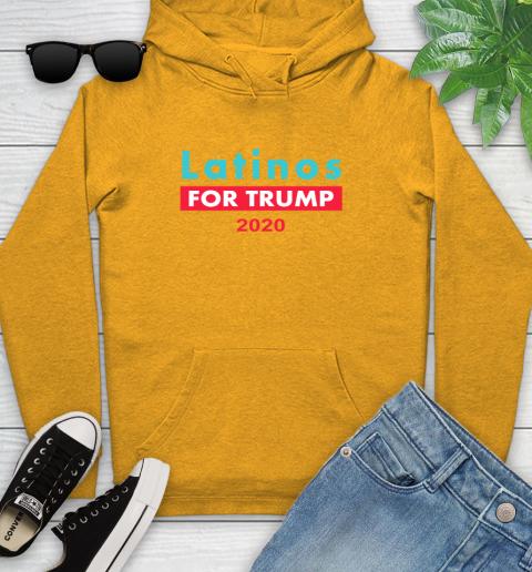 Latinos Trump 2020 Youth Hoodie 3