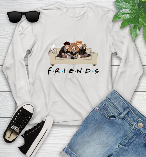 Harry Potter Ron And Hermione Friends Shirt Youth Long Sleeve