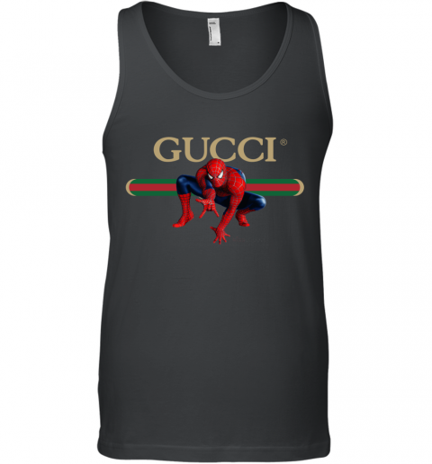 Gucci Logo Spiderman Tank Top