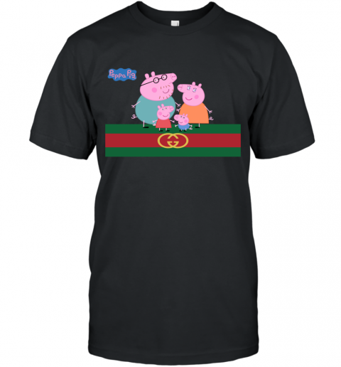 Peppa Pig Gucci Family Limited T-Shirt