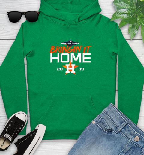 Bringing It Home Astros Youth Hoodie 9
