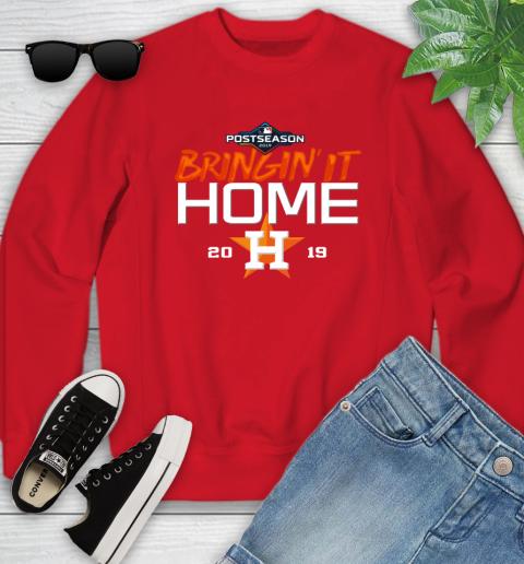 Bringing It Home Astros Youth Sweatshirt 8
