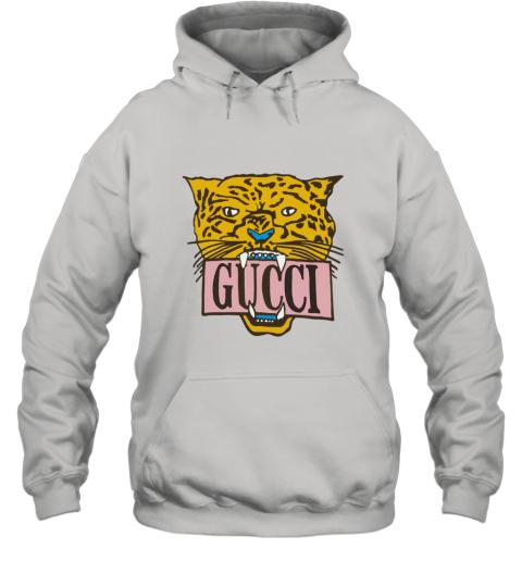 GUCCI Sequin Logo Oversized Hoodie