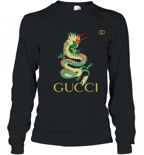 Gucci Dragon Premium Youth Long Sleeve T-Shirt