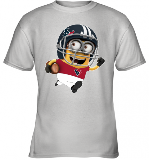 NFL Houston Texans Minions Disney Football Sports Youth T-Shirt